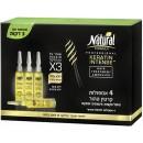 325 NATURAL FORMULA Ампулы для лечения волос тройного действия с кератином 4 штуки