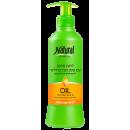 339 NATURAL FORMULA Питательный увлажняющий крем для окрашенных волос с миндалем 400 мл
