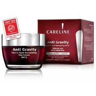 470 CARELINE Anti Gravity Корректирующий дневной крем для кожи лица и шеи SPF15 50 мл