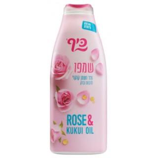 890 KEFF Питательный шампунь «Роза и масло кукуи» 700 мл