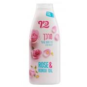891 KEFF Питательный кондиционер «Роза и масло кукуи» 700 мл