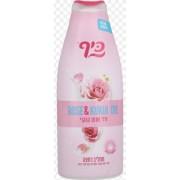 892 KEFF Питательный крем-гель для душа «Роза и масло кукуи» 700 мл
