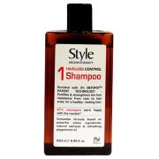 145 STYLE AROMA  Шампунь контроль против выпадения волос 250 мл